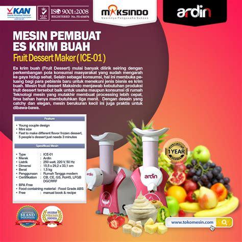 Mesin Freezer Es Krim mesin es krim buah rumah tangga toko mesin maksindo toko