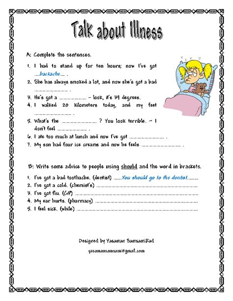 Health Worksheets by Worksheets For Middle School Health Mental Health