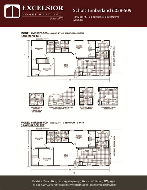 schult timberland 6028 509 excelsior homes west inc schult timberland 6028 509 excelsior homes west inc