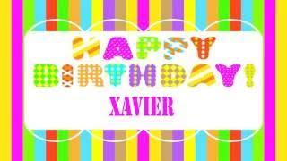 imagenes feliz cumpleaños xavi cumplea 241 os xavier