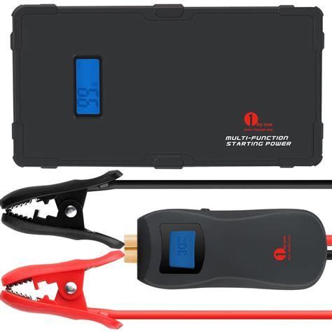 Power Bank Jumper review 1byone smart jump starter power bank flashlight