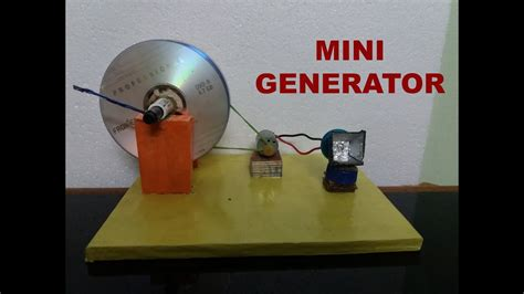 how to make a mini generator easy way