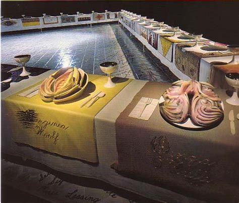 judy chicago dinner judy chicago s the dinner by davila ragged