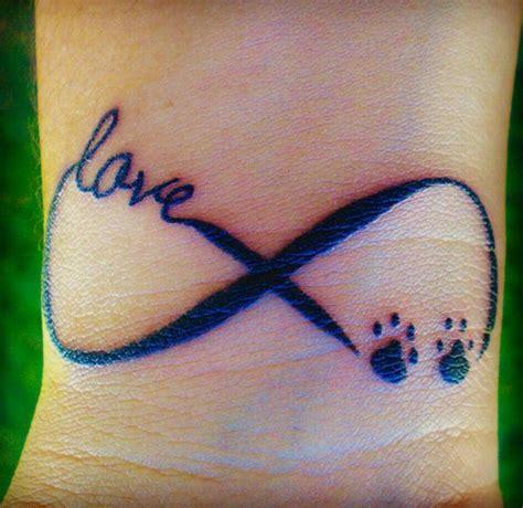 tattoo infinity animal dog paw infinity tattoo google search next tattoo