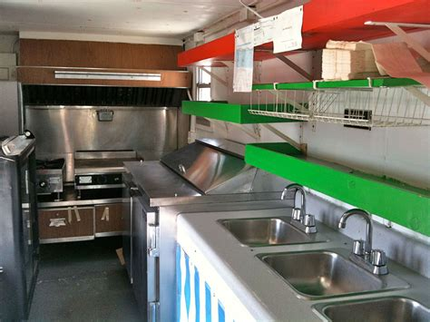 pics for gt food truck interior