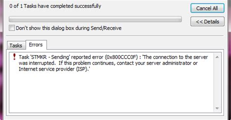 Outlook Not Searching Emails Properly How To Resolve Outlook Error 0x800ccc0f Find Solution