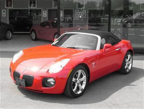 pontiac sports car pontiac solstice gxp sports cars