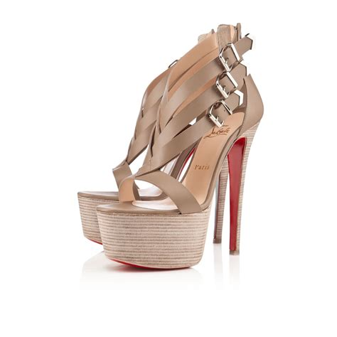 bottom high heels for cheap 2018 christian louboutin bottom charleze 16cm high