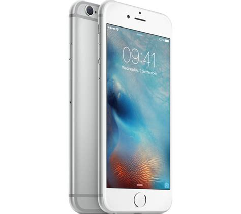 Apple Iphone 6s 32gb Silver apple iphone 6s 32 gb silver deals pc world