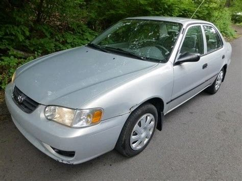 2002 Toyota Corolla S Mpg Purchase Used 2002 Toyota Corolla Sale 37 Mpg