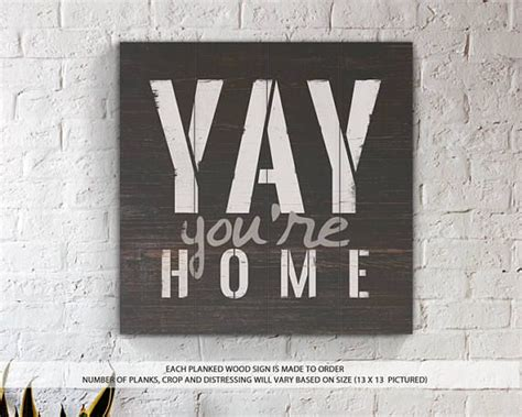 best 25 welcome home signs ideas on wood