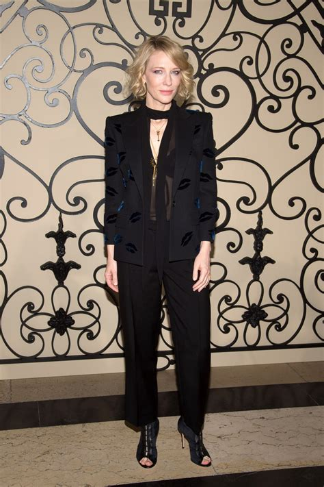 Cate Blanchett Has Seen Better Days by See Cate Blanchett Julianne And More Sit Front Row