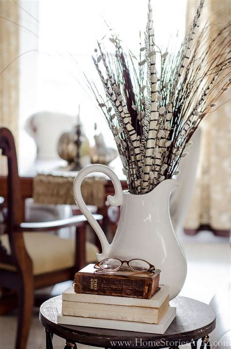 fall centerpieces with feathers 268 best images about feathers for home decor on pinterest