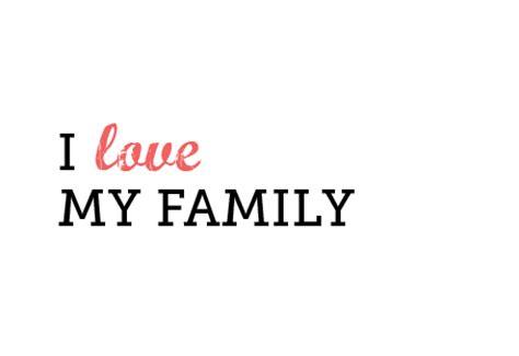 imagenes de i love your family gif anim 233 de famille et des images gratuites gifmania