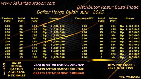 Kasur Inoac Jakarta distributor resmi kasur busa inoac daftar harga jual