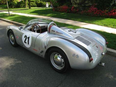 1956 porsche 550 spyder purchase new 1956 porsche 550 spyder roadster convertible