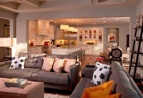 Model Home Family Room Pictures by Model Home Traditional Family Room Detroit By