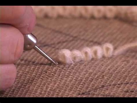 How To Hook Rug by How To Hook Rugs Mov