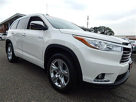 Toyota Highlander 2014 For Sale 1 Month Used 2014 Toyota Highlander Hybrid Limited For