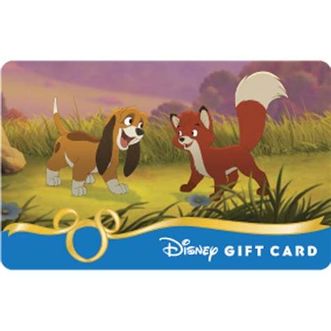 Fox Gift Card - your wdw store disney collectible gift card fox and the hound