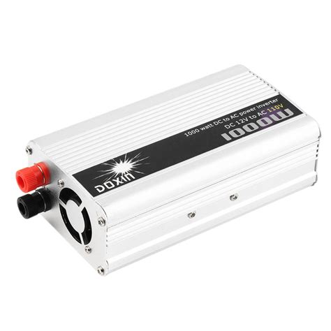 Ac Portable Rendah Watt dc 12v to ac 110v portable car power inverter charger converter 1000w watt e0 ebay
