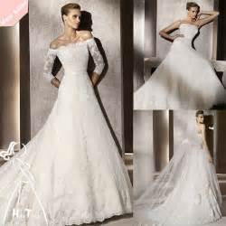 long sleeves lace bridal dresses ideas designers