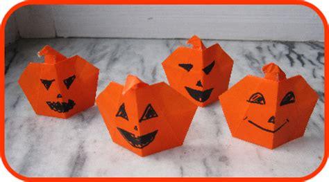 3d Origami Pumpkin - nkitkat origami pumpkins