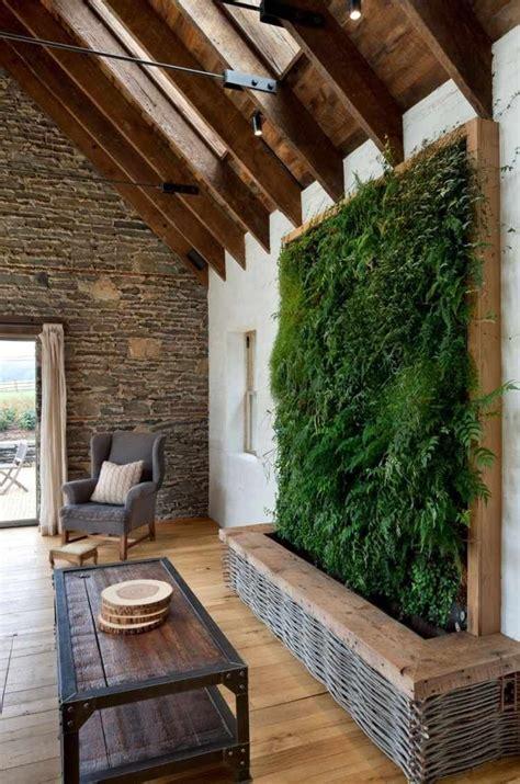 mur vegetal interieur en  idees pour la maison
