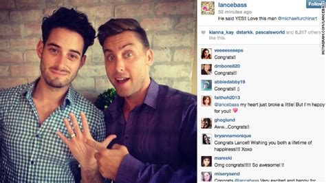 Lance Bass Boyfriend Target Of Threats 2 by Jodie Foster Marries Alexandra Hedison Cnn