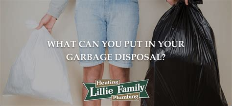 Can You Install A Garbage Disposal On Any Sink by What Can I Put In My Garbage Disposal Lillie Family Heating
