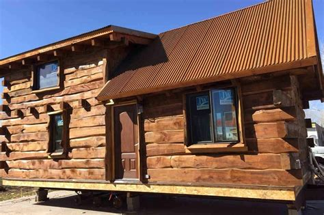 Log Cabins Delivered by Special Delivery This Tiny Log Cabin Just Needs A