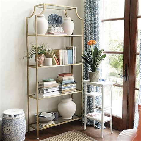 ballard designs shelves wide etagere contemporary display and wall