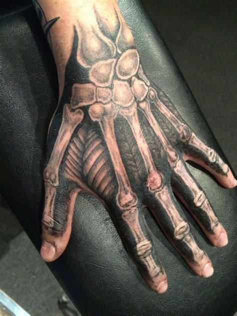 bone hand tattoo 25 best ideas about skeleton on