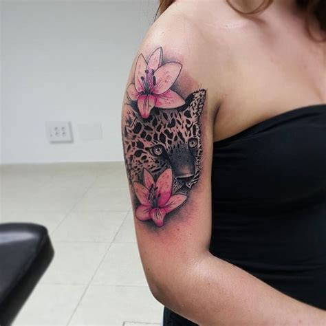 roses and leopard print tattoo 11 snow leopard designs images and picture ideas