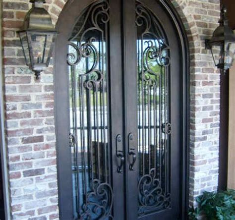 Cast Iron Doors by Ornamental Cast Iron Fences Gates And Exterior Doors