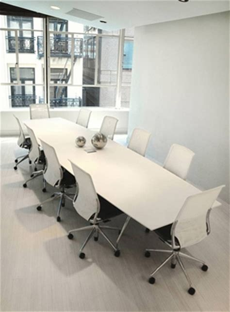 white conference room table white modern large conference table ambience dor 233