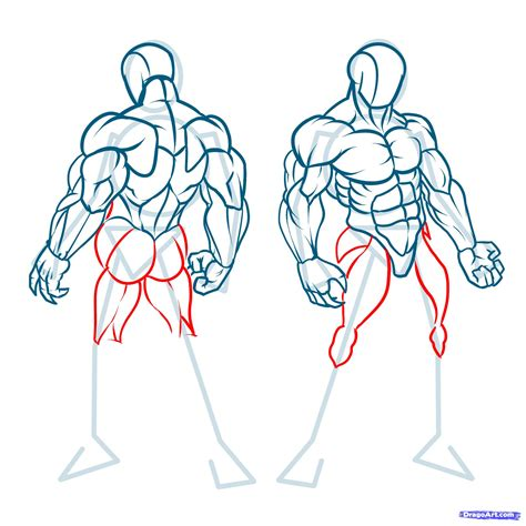 how to draw muscles how to draw muscles step by step anatomy free
