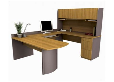 Executive U Shaped Desk Bestar Executive U Shaped Desk