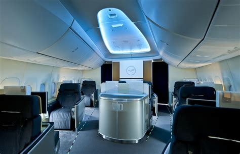 Lufthansa 747 Interior by Lufthansa Airlines Takes Delivery Of Their Boeing
