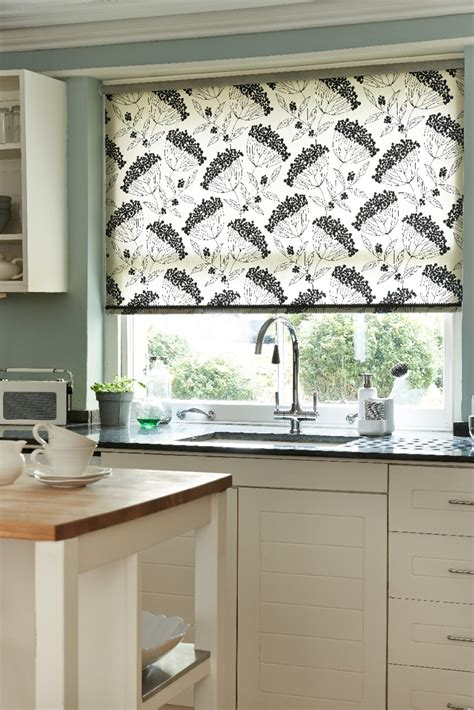 Patterned Kitchen Blinds Uk Stylish Roller Blinds Gallery In Wellingborough