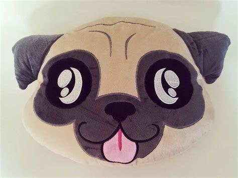 pug emoji moodrush pug smiley pillow pudge carlin emoji pillow shop
