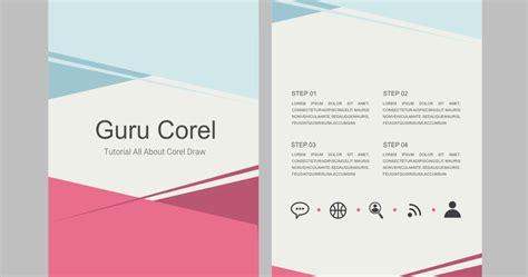 layout buku coreldraw cara membuat brosur sederhana dengan coreldraw x3 x4 x5 x6