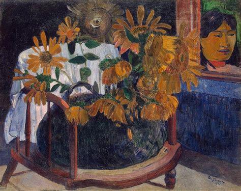 sunflowers paul gauguin hermitage museum