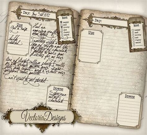 free printable vintage journal pages printable diary pages journal pages vintage old tattered