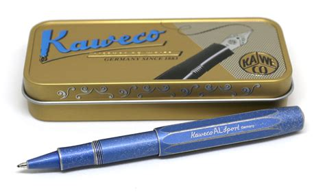 Old Kitchen Knives by Kaweco Al Sport Rollerball Pen Review The Gadgeteer