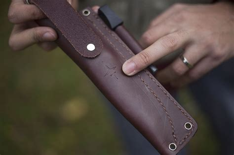 jre sheath l t wright genesis black handled bushcraft knife review