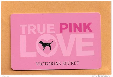 Victoria Secret Canada Gift Card - victoria secret true love pink new gift card collection delce net
