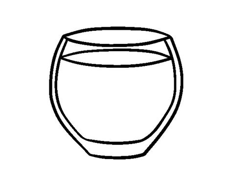 Coloring Pages Of Water by Glass Of Water Coloring Page Coloringcrew