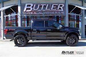 Ford Truck Tires And Rims Ford F150 With 22in Fuel Maverick Wheels Exclusively From