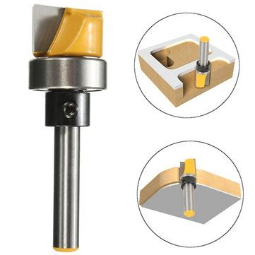 1 4 Inch Shank Hinge Mortise Template Router Bit Woodworking Milling Cutter Sale Banggood Com Router Bit Template Cutter